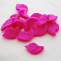 100% Wool Felt Bird Die Cut - 20mm x 30mm - 10 Count - Hot Pink