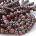 High Quality Grade A Natural Leopard Skin Jasper Semi-precious Gemstone Round Beads 4mm, 6mm, 8mm, 10mm