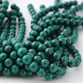 Semi-Precious Gemstone Natural Malachite Round Beads 4mm, 6mm, 8mm, 10mm