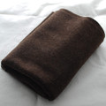 100% Wool Felt Fabric - Approx 1mm Thick - Dark Brown Mix - 45cm x 50cm