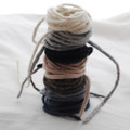 100% Wool Felt Cord - Handmade - Assorted Neutral Colours