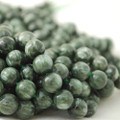 Semi-Precious Gemstone Seraphinite Round Beads 4mm 6mm, 8mm, 10mm