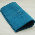 "Handmade 100% Wool Felt Sheet - Approx 5mm Thick - 12"" Square - Cerulean Blue"