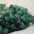 Moss Jade Round Beads 4mm, 6mm, 8mm, 10mm ( dyed )