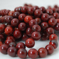 High Quality Grade A Natural Apple Jasper Gemstone Round Beads 4, 6, 8, 10mm sizes