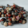 High Quality Grade A Natural Imperial Jasper Gemstone Round Beads 6, 8, 10mm sizes