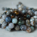High Quality Grade A Natural Ocean Jasper Gemstone Round Beads 4, 6, 8, 10mm sizes