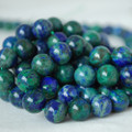 High Quality Azurite (dyed) Gemstone Round Beads 4, 6, 8, 10mm sizes
