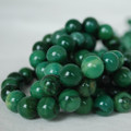 High Quality Grade A Natural Verdite African Jade Gemstone Round Beads 4, 6, 8, 10mm sizes