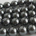 Quality Hematite Round Beads 6mm, 8mm, 10mm Non-Magnetic