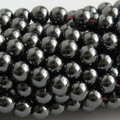 Quality Hematite Round Beads 6mm, 8mm, 10mm Magnetic