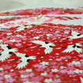 Japanese Handcarfted Yuzen Washi Origami Paper Pack - 20 different sheets in Red Colour Theme - 15cm