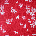 Japanese Handcrafted Yuzen Washi Chiyogami Origami Paper Large sheet - Pink Sakura Cherry Flowers - approx 630mm x 945mm