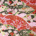 Japanese Handcrafted Yuzen Washi Chiyogami Origami Paper Large sheet - Fan - approx 630mm x 945mm