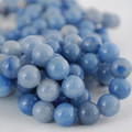 Semi-Precious Gemstone Blue Aventurine Round Beads 4mm, 6mm, 8mm, 10mm