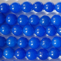 Semi-Precious Gemstone Blue Jade Round Beads 4mm, 6mm, 8mm, 10mm