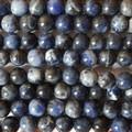 Semi-Precious Gemstone Sodalite Round Beads 4mm, 6mm, 8mm, 10mm