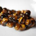 High Quality Grade A Natural Tiger's Tiger Eye Semi-precious Gemstone Round Beads - 4mm, 6mm, 8mm, 10mm