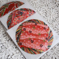 Japanese Yuzen Washi Origami Paper Pack -  40 Assorted Sheets (20 Yuzen and 20 Plain Paper) - 10cm