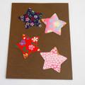 Japanese Yuzen Washi Paper Sticker Pack - Stars