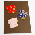 Japanese Yuzen Washi Paper Sticker Pack - Kimono Dress