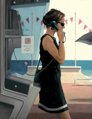 Her Secret Life by Jack Vettriano