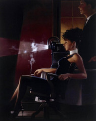 An Imperfect Past  is an Premium Print surreal, figurative print by Scottish artist Jack Vettriano