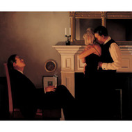 Beautiful Losers II Detail 1  is an Premium Print surreal, figurative print by Scottish artist Jack Vettriano