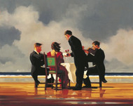 Elegy For A Dead Admiral   is an Open Edition surreal, figurative print by Scottish artist Jack Vettriano