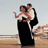 The Missing Man I  is an Open Edition surreal, figurative print by Scottish artist Jack Vettriano