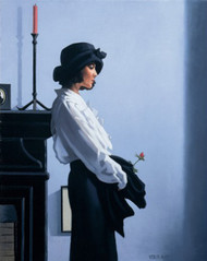 Valentine Rose is a Premium Print surreal, figurative print by Scottish artist Jack Vettriano