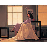 Winter Light And Lavender is a Premium Print surreal, figurative print by Scottish artist Jack Vettriano