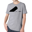 LA BOCA on kids heather grey tri-blend shirt