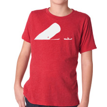 LA BOCA on kids vintage red tri-blend shirt
