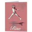 RISE greeting card