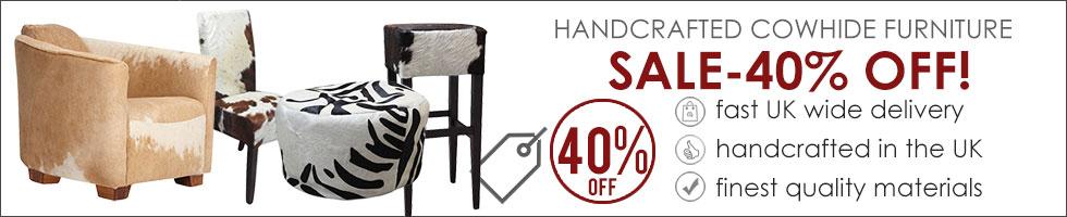 Cowhide Furniture Sale