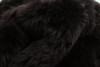 Chocolate brown sheepskin rug