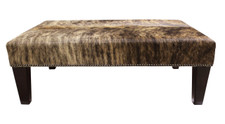 Brindle Cowhide Footstool 3ft x 2ft FST180