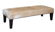 4ft x 1.5ft Cowhide Footstool FST908