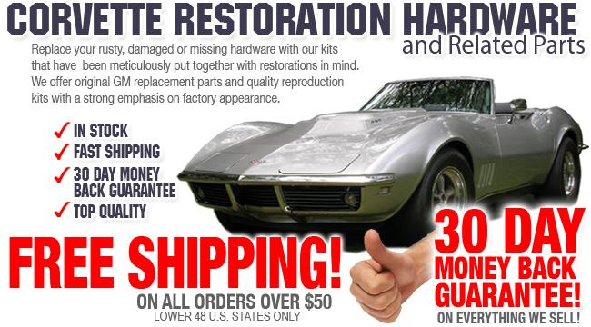 Corvette Fasteners Amp Restoration Hardware