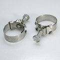 "1963-67 Corvette Automatic Transmission Cooler Line Clamps NOS ""WITTEK SG22"""