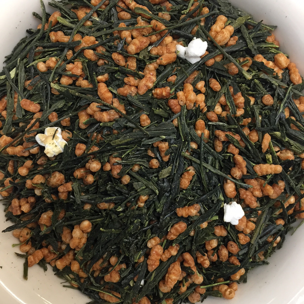 Genmai Cha loose leaf tea