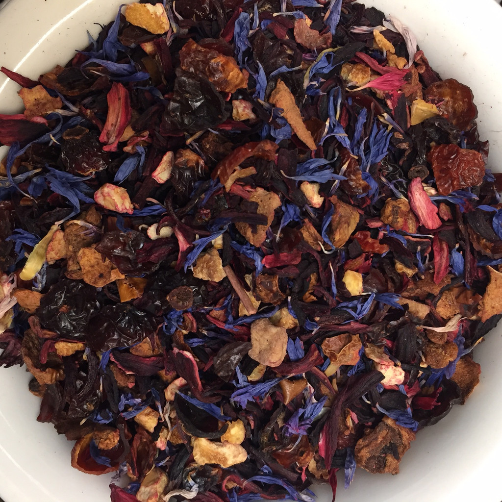 Berry Vanilla Hybiscus loose leaf tea
