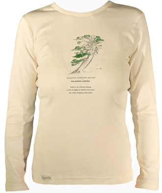Women's Organic Cotton Long Sleeve Tree Designs