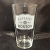 Custom Etched Entering [CITY/TOWN] Sign Glasses Set of 4