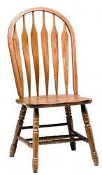 Solid Oak Monarch Chair