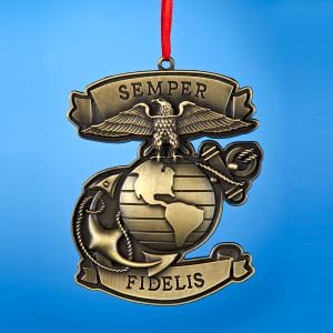 """""""Semper Fidelis"""" Ornament"""