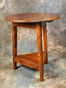 French Round Cricket Table