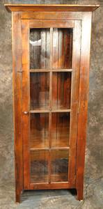 8 Pane Glass Door Cupboard
