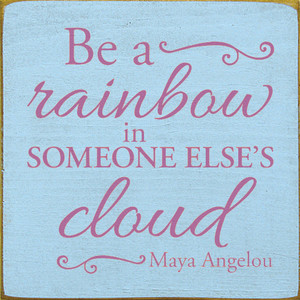 CUSTOM Be A Rainbow 12x12